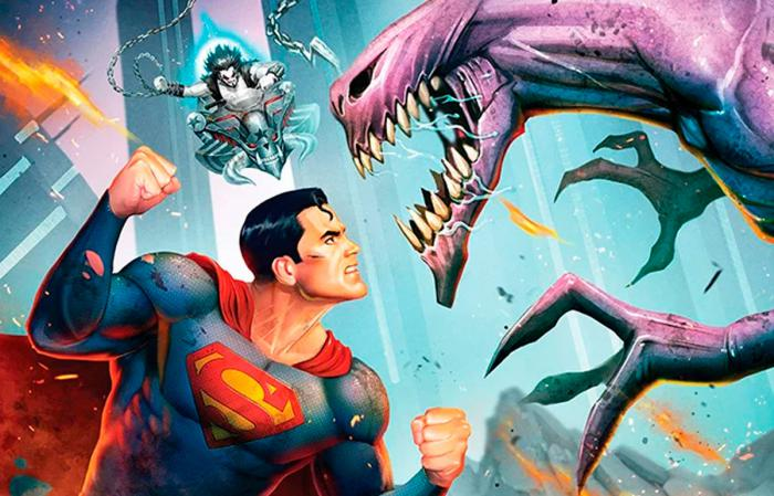 Recorte de la carátula de Superman: Man of Tomorrow (2020)