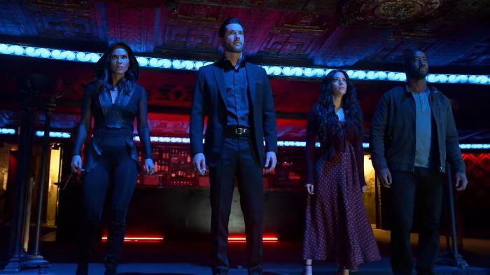 Imagen de Lucifer 4x10: Whos da New King of Hell?