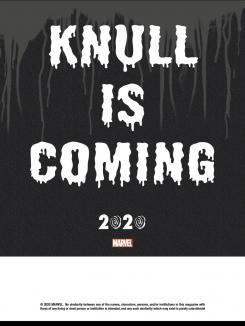 Teaser de Knull, el próximo evento cósmico de Marvel