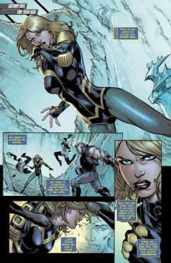 Preview de Birds of Prey #0 de los New 52