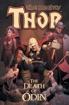 Portada del cómic Thor Vol. I: Death of Odin, de 1999