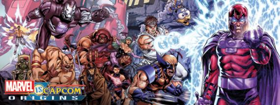Recreación de la portada del cómic X-Men (1991) #1 para Marvel vs. Capcom Origins