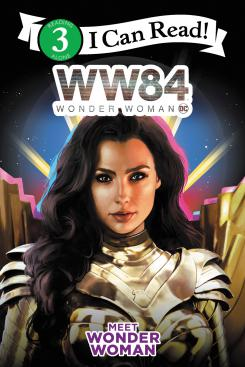 Portada del libro promocional de Wonder Woman 1984 (2020), Meet Wonder Woman