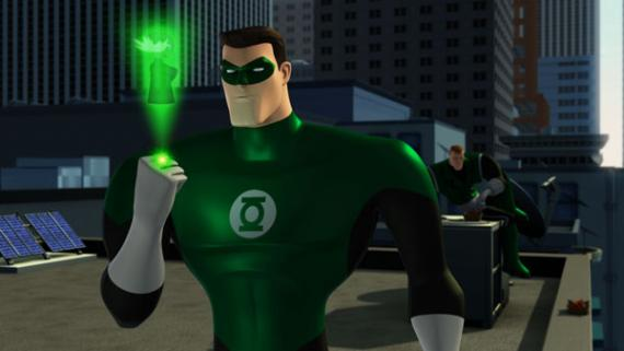 Imagen del episodio 2x01: A New Guy de Green Lantern: The Animated Series (2012)