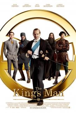 Póster internacional de The King's Man (2020)