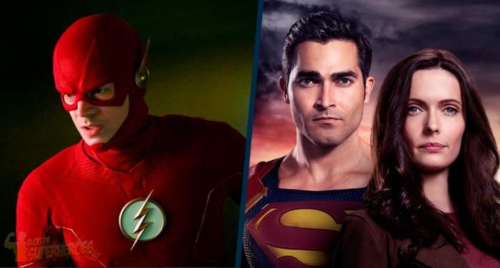 Montaje de The Flash y Superman & Lois