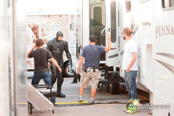 Imagen del set de rodaje de Robocop (2013) en Toronto