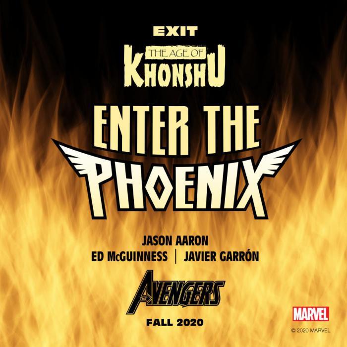 Teaser de La Edad de Khonshu, Enter de Phoenix, nuevo evento de los Vengadores para diciembre 2020