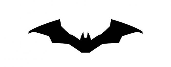Logo oficial de Batman en la película The Batman (2021)