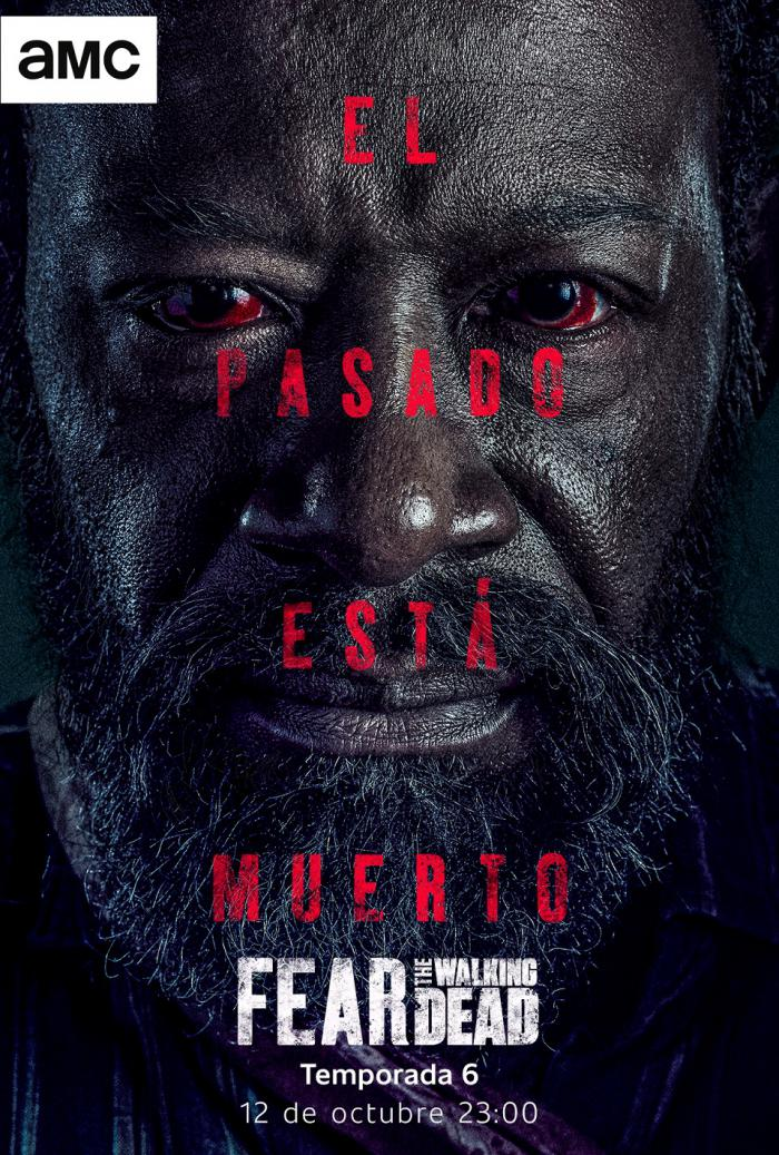 Póster de la sexta temporada de Fear The Walking Dead (2020)