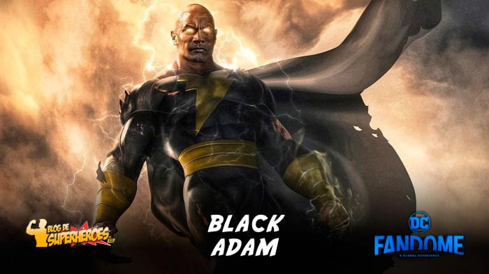 Resumen del panel de Black Adam en DC FanDome