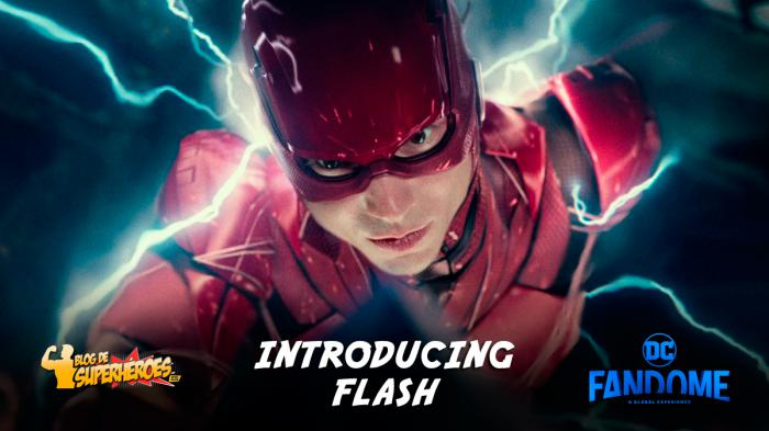 Resumen del panel de Introducing Flash en DC FanDome