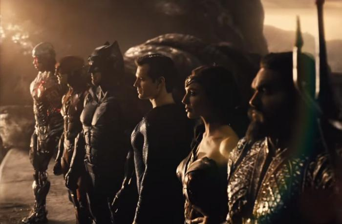 Captura del primer trailer de Snyder Cut de Justice League (2021)