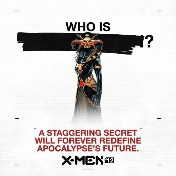 Teaser de X of Swords en X-Men #12