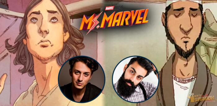 Jasjit Williams y Saagar Shaikh en negociaciones para Ms. Marvel