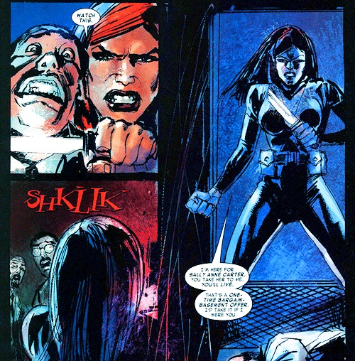 Imagen del cómic Black Widow: The Things They Say About
