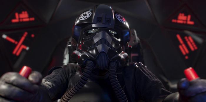 Imagen del corto Persecución de Star Wars: Squadrons (2020)