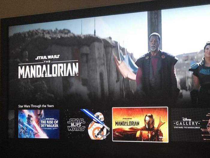 Imagen filtrada de la segunda temporada de The Mandalorian procedente de la app de Disney+