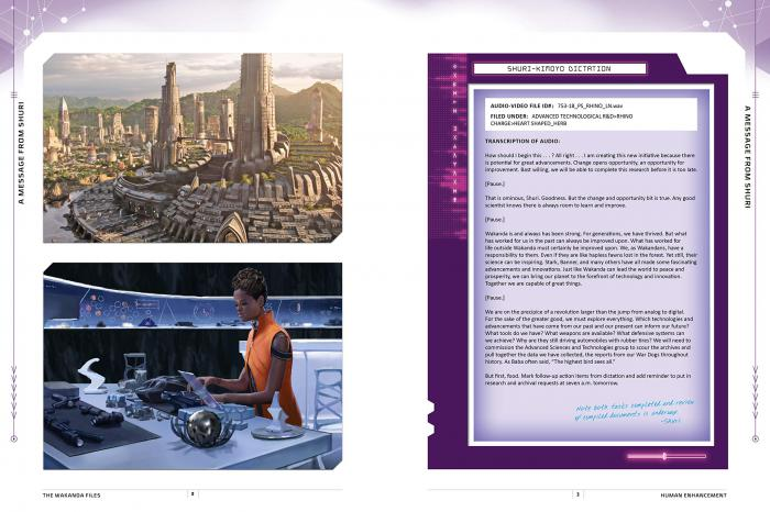 Interior del libro The Wakanda Files: A Technological Exploration of the Avengers and Beyond