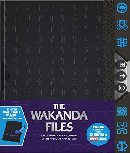 Portada del libro The Wakanda Files: A Technological Exploration of the Avengers and Beyond