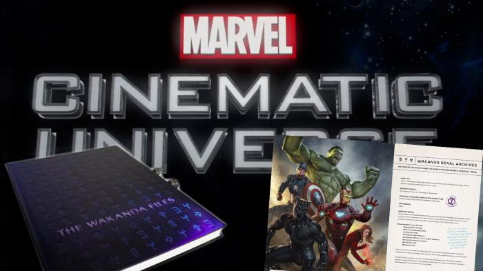 Montaje Libro The Wakanda Files: A Technological Exploration of the Avengers and Beyond