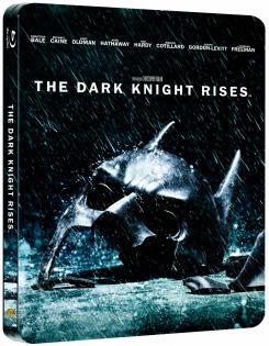 Carátula de la edición caja metálica de The Dark Knight Rises (2012) para Alemania