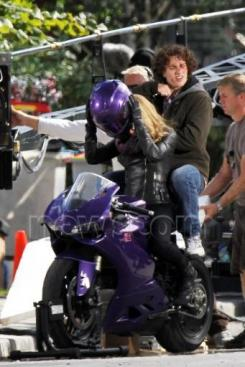 Set de rodaje de Kick-Ass 2 (2013)