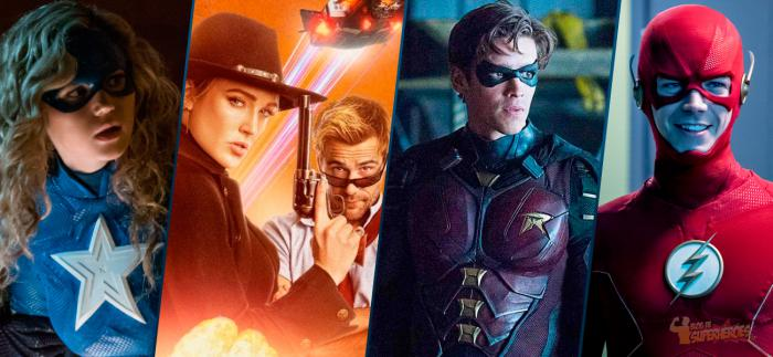 Montaje de Stargirl, Legends of Tomorrow, Robin y The Flash