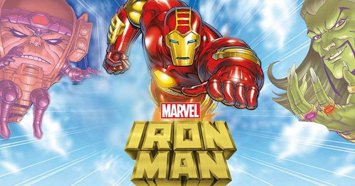 Imagen promocional de Iron Man: The Animated Series de los 90