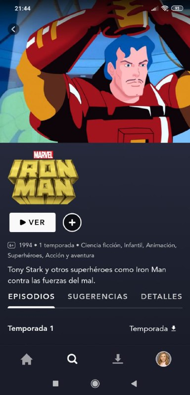 Iron Man: The Animated Series de los 90 se cuela en Disney+ España