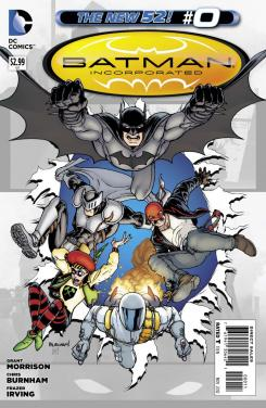 Portada del número 0 de Batman Inc de The New 52 de DC Comics (2012)