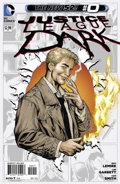 Portada del nº 0 de Justice League Dark de The New 52 de DC Comics (2012)