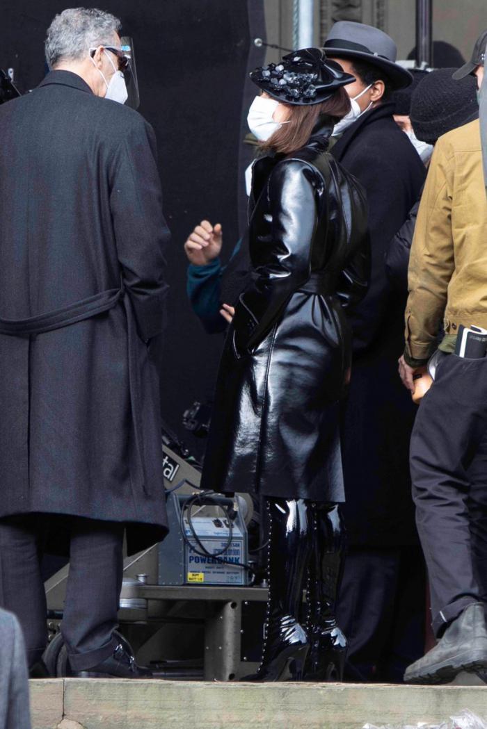 Imagen del rodaje de The Batman (2021) en Liverpool (octubre 2020)