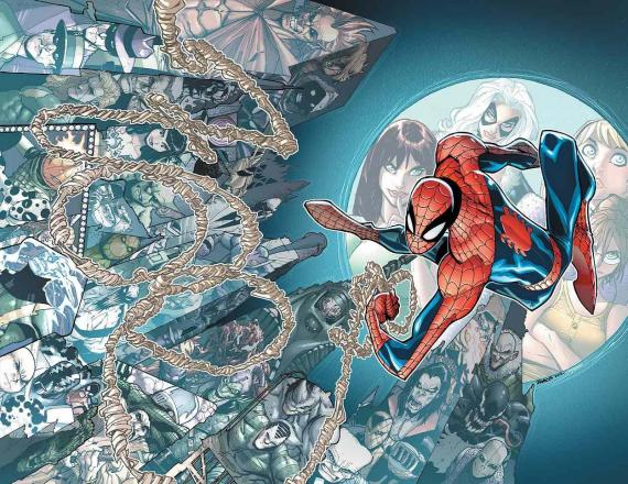 Portada del comic Spider-Man #700, por Mr. Garcin