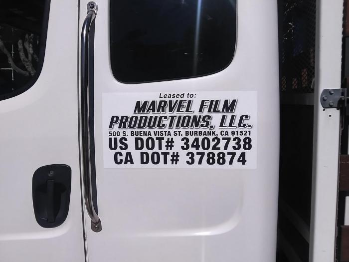 Imagen del set de rodaje de Shang-Chi and the Legend of the Ten Rings en San Francisco (octubre 2020)