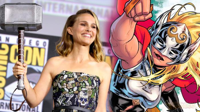 Montaje de Mighty Thor y Natalie Portman para Thor: Love and Thunder (2021)