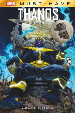 Portada de Marvel Must-Have. Thanos: Origen