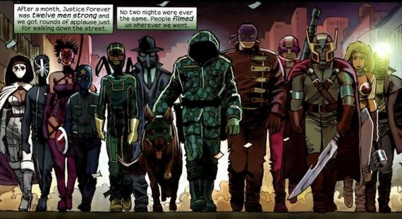 Justice Forever en Kick-Ass Vol.2