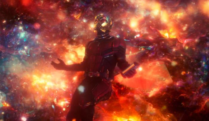 Imagen de la escena poscréditos de Ant-Man y la Avispa (2018)