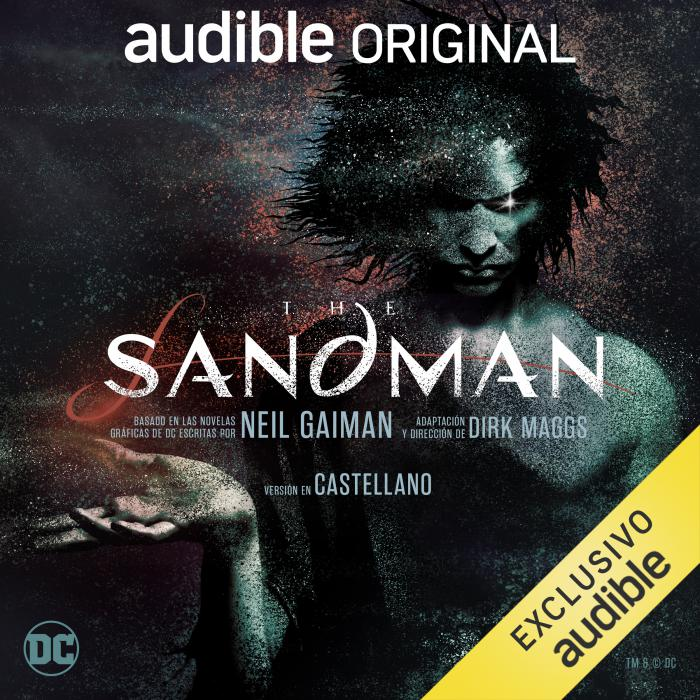 Portada de la audioserie de The Sandman de Audible