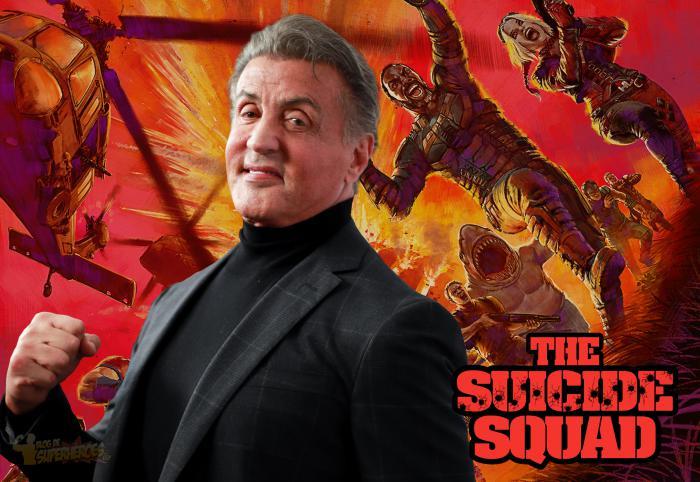 Sylvester Stallone confirma su participación en The Suicide Squad