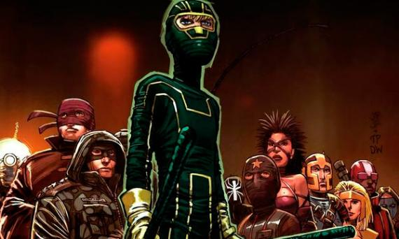 Recorte de la portada del cómic Kick-Ass 2 Issue 3