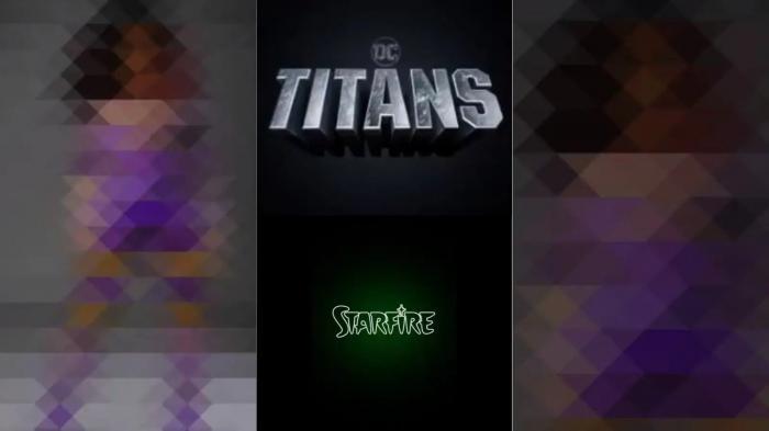 Avance de Starfire en la temporada 3 de Titans